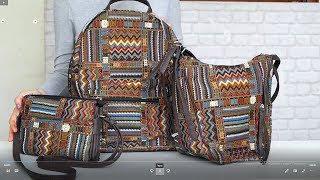 Обзор сумок коллекции Мексика (сет для путешествия)