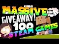 Steam Game Giveaway || 100 Games - 10 Winners || Giveaway Ended