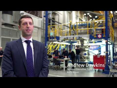 Rolls-Royce: Andrew Dawkins on the Trent 7000