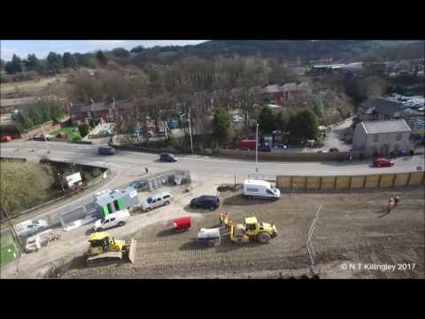 Chesterfield Waterside - Enabling Works Completed