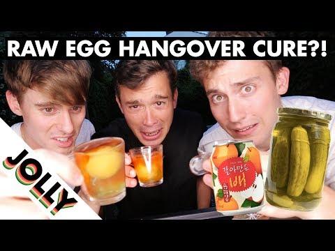 WORLD'S WEIRDEST HANGOVER CURES!?!