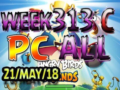 Angry Birds Friends Tournament All Levels Week 313-C PC Highscore POWER-UP walkthrough