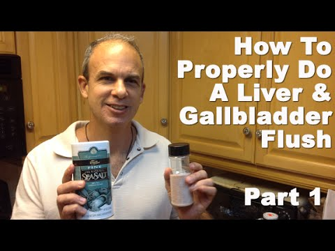 Gallbladder Cleanse Liver Flush - BEST Gallbladder Cleanse Procedure To Get Rid Of Gallstones PART 1