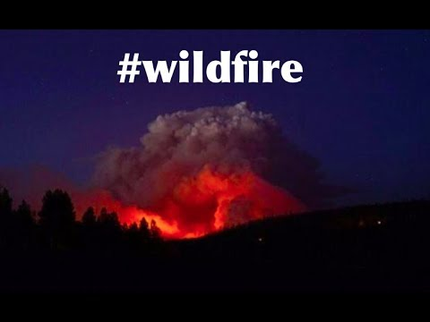 Large SW Utah Wildfire visible from Space | Evacuations - 42000 acres