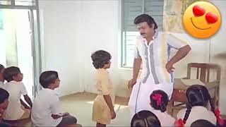 Vijayakanth school comedy what's up status