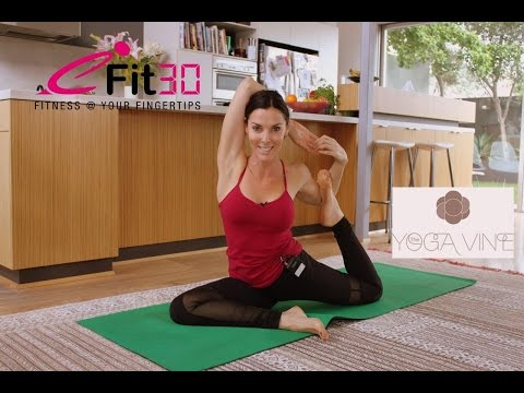 Yoga  Side body workout - by Donna from The Yoga Vine