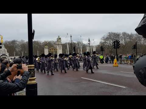 Band of the Grenadier Guards - Changing the Guard 11-03-2018