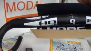 HQBC  Q8000.1 OS AL7050 44см - Алюминиевый руль для шоссейных велосипедов