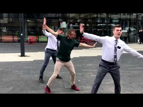 LDS Missionaries Dance The I Carlton Challenge