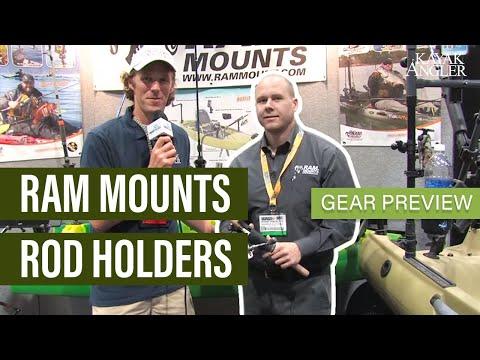 Ram Mounts Rod Holders   Gear Preview