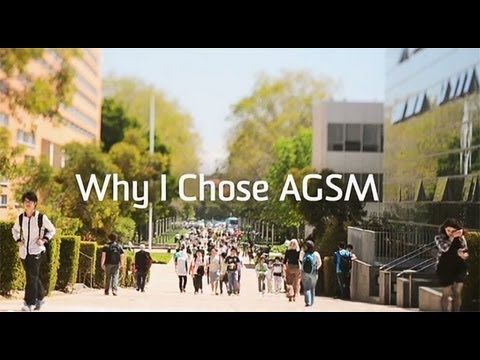 Why I chose AGSM (Australian Graduate School of Management)