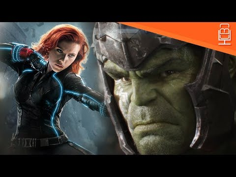 Hulk & Black Widow Dumb Romance Revisited in Avengers Infinity War