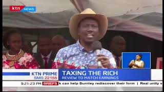 Deputy President William Ruto wants rich people to pay more for NHIF