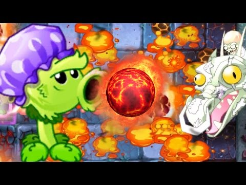 Plants Vs Zombies 2 - Super Primal Peashooter ZOMBOSS Challenge! PvZ 2 China