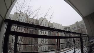 Charlotte NC Snow Time Lapse - 1/7/17