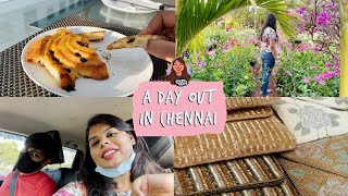 A Day Out In Chennai | Style Bazaar + Book Fair + Nursery & Haul | Cheeky Vlogs