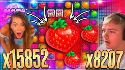Record win x15852 on Jammin Jars slot  - Top 5 BIG WINS  in slot