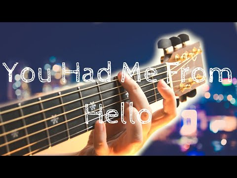 Bon Jovi | You Had Me From Hello | Fingerstyle Acoustic Guitar | Lakewood M32CP
