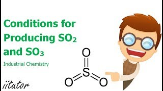 √ Conditions for Producing SO2 and SO3 | Industrial Chemistry | Chemistry