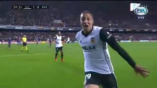 Melhores momentos de Valencia 1 x 1 Barcelona pela La Liga