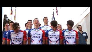 Les premiers pas de l'Équipe cycliste continentale Groupama-FDJ