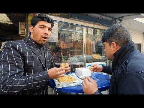 بولانی پزی افغان در دهلی هند   بولانی وطنی چتنی عشقی