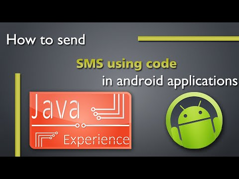 How to send SMS using code in android application