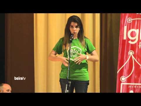 """BEIRA TV: Ignite Campus @ IPCB - Ana Sofia Malta, """"Bio Poli: design eficiente para o meio ambiente"""""""