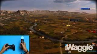RUSE игра с новым контроллером PlayStation 3