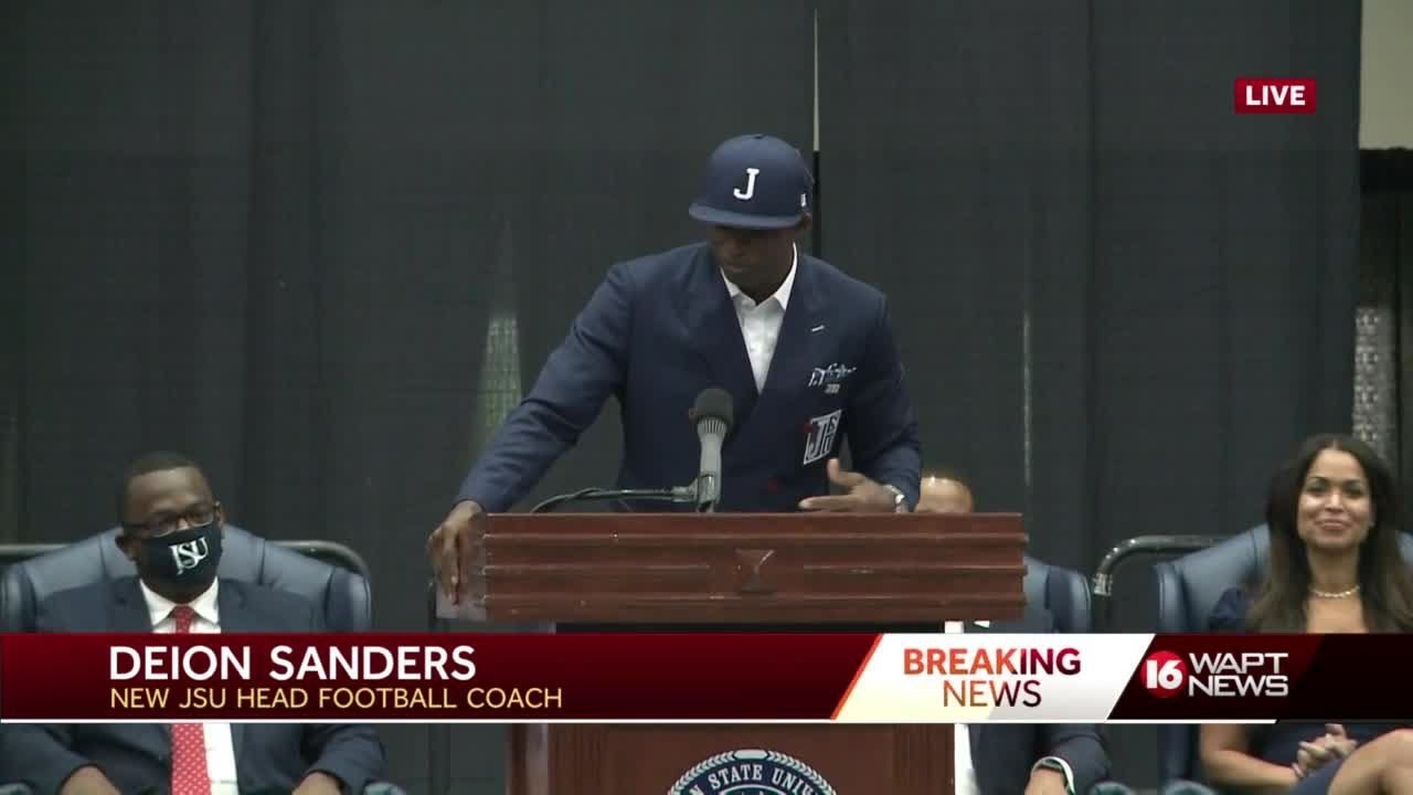 'Match made in heaven': Deion Sanders to coach Jackson State