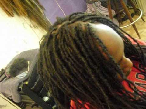 Sabrina Replaces And Re Builds Thinning Dreadlocks Youtube
