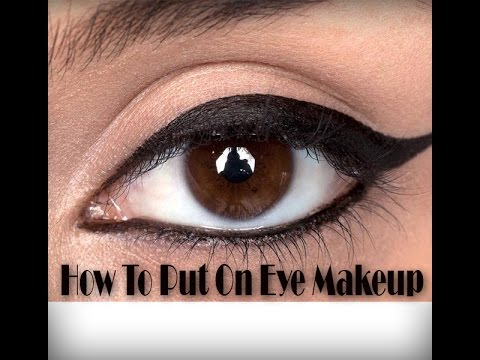How To Put On Eye Makeup | Learn The Basics To Put On Eye Makeup