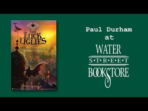 Paul Durham at Water Street Bookstore
