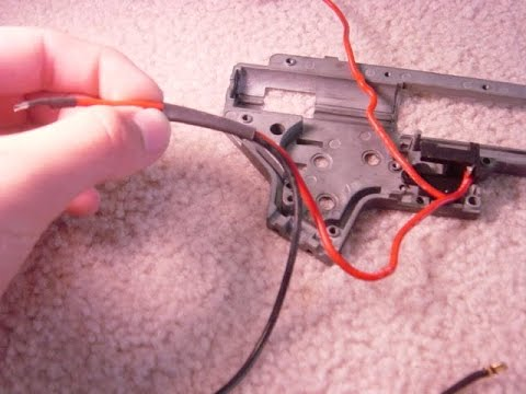 DIY: How to Upgrade Airsoft Gun Wires from Scratch Aeg Wiring Harness on
