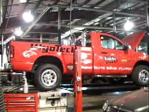 Wyo Tech Blairsville Pullin Truck 8