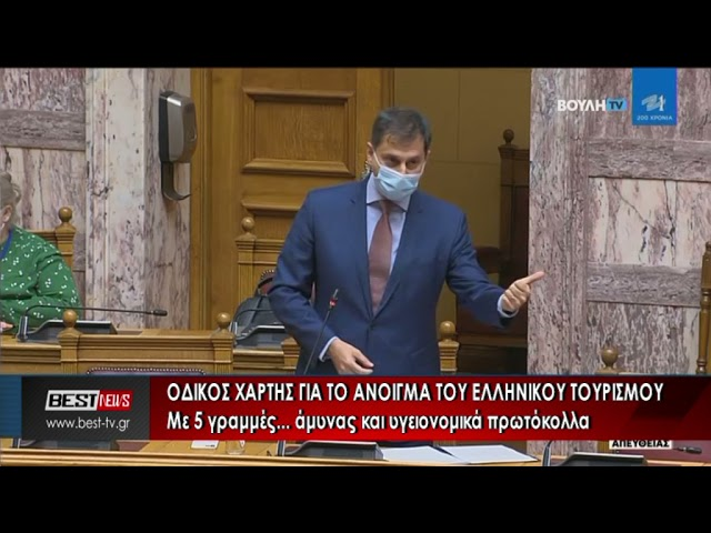 Οδικός χάρτης για το άνοιγμα του ελληνικού τουρισμού