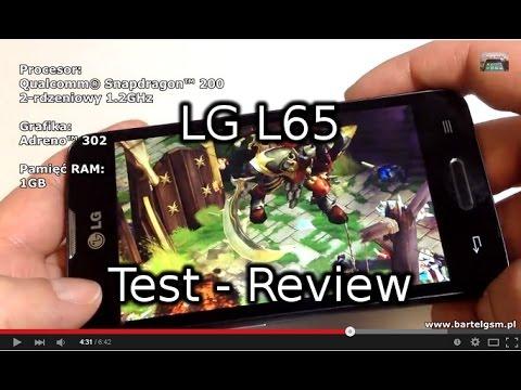 LG L65 Test - Prezentacja