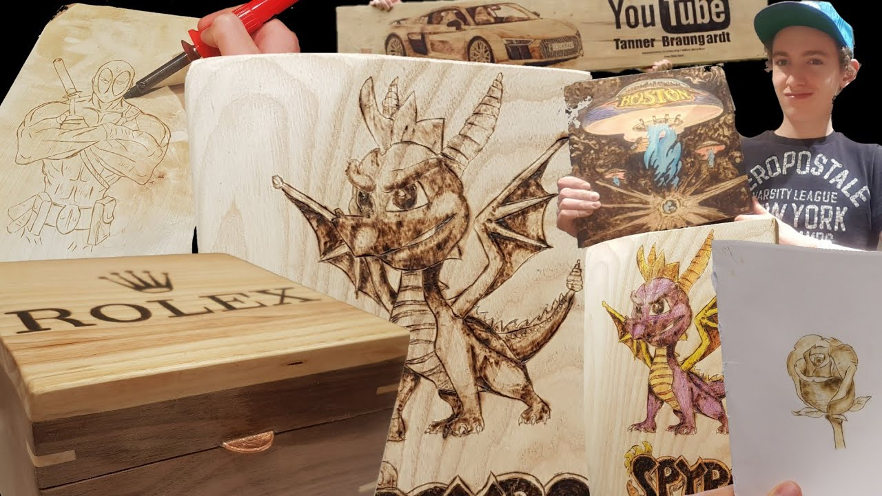 40 Ideas For Wood Burning Project Ideas Youtube