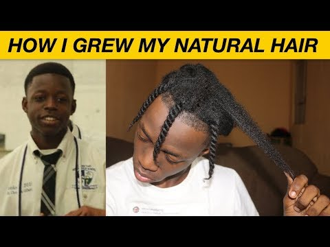 HOW I GREW MY NATURAL HAIR LONG | MY NATURAL HAIR JOURNEY  **(UPDATE!!)**