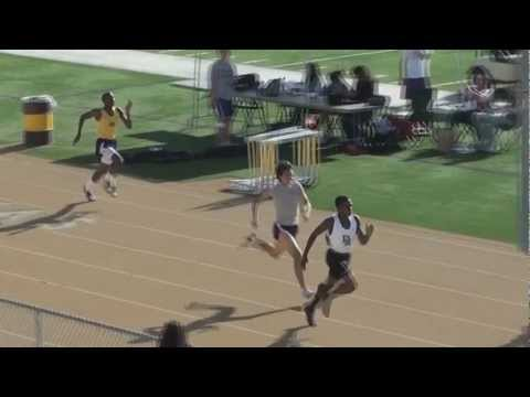 2012 DBHS vs DRHS 400 Boys Varsity Race with Slow Motion Replay
