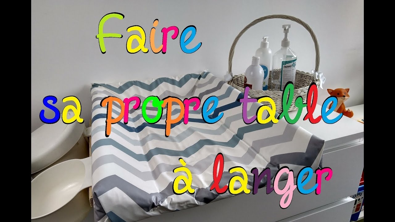 Diy Faire Sa Propre Table à Langer