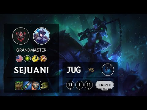 Sejuani Jungle vs Nocturne - NA Grandmaster Patch 10.13