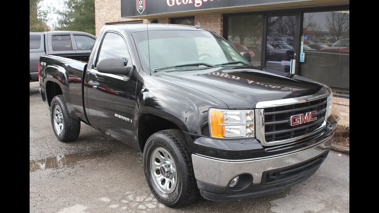 2007 Gmc Sierra For Sale >> Used 2007 Gmc Sierra 4x4 Reg Cab For Sale Georgetown Auto Sales Ky Kentucky Sold