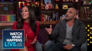Joe Gorga Explains 'Babysitting' his Kids | RHONJ | WWHL