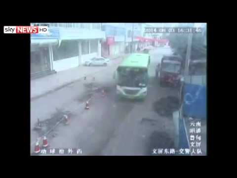 earthquake china dong dat o trung quoc 2014