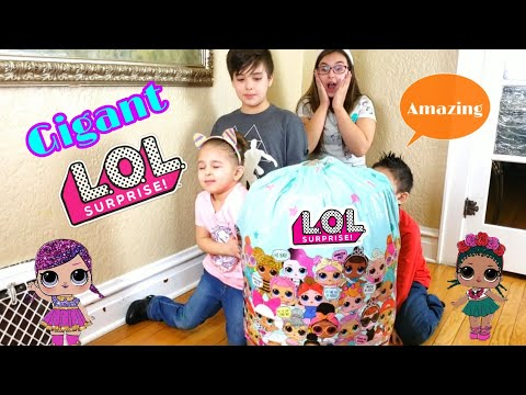Giant LOL surprise egg
