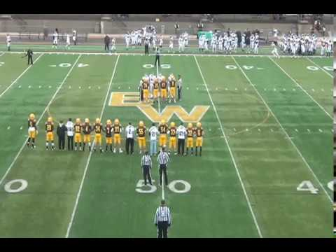 BW Football vs. Mount Union (2014 Seniors' and Parents' Day)
