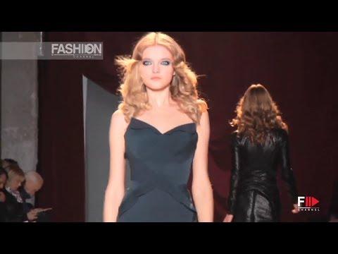 ZAC POSEN Fall 2011 2012 Paris - Fashion Channel