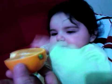 Bebek ve portakal aski