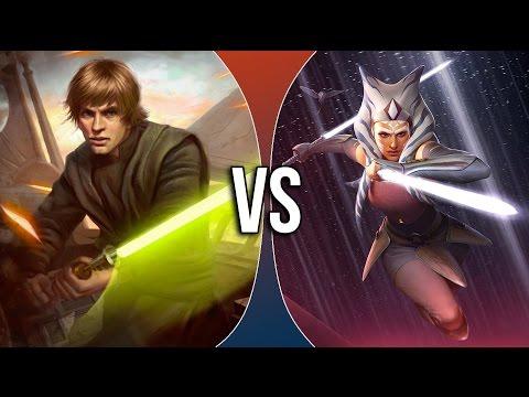 VS | Luke Skywalker vs Ahsoka Tano (ft. DuduFilm)